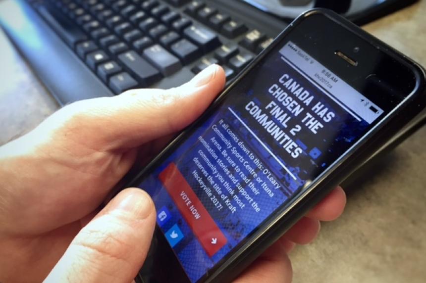 'Vote, vote, vote:' Ituna makes final push in Kraft Hockeyville contest