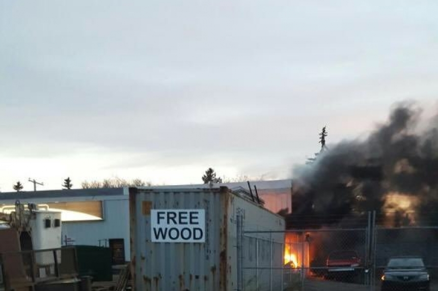 'I heard a big pop:' Fire damages Eastview business