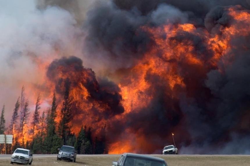 Fort McMurray couple seek evacuee network in Saskatchewan
