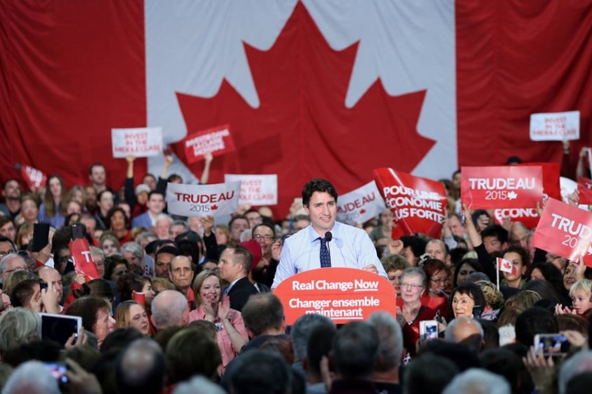 CANADA VOTES 2015: Liberals turf Harper's Conservatives