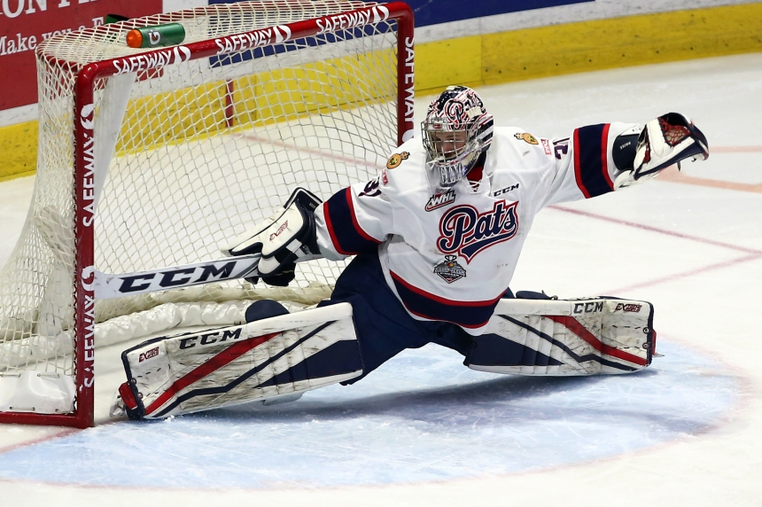 Goaltender Tyler Brown shines in Pats' 3-2 win in Seattle