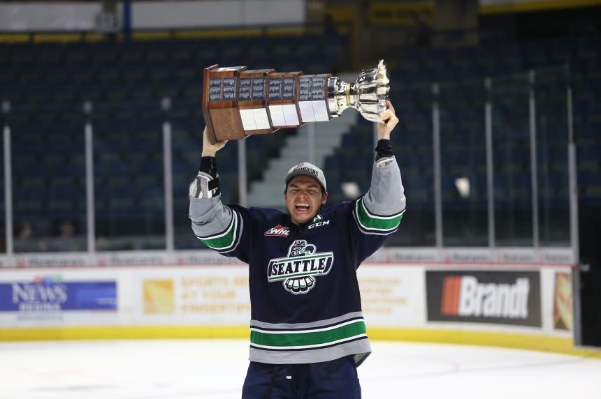Saskatchewan-born Thunderbirds celebrate win close to home