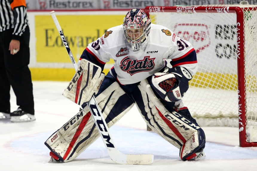 Pats clinch the east division with a 5-0 win over Moose Jaw
