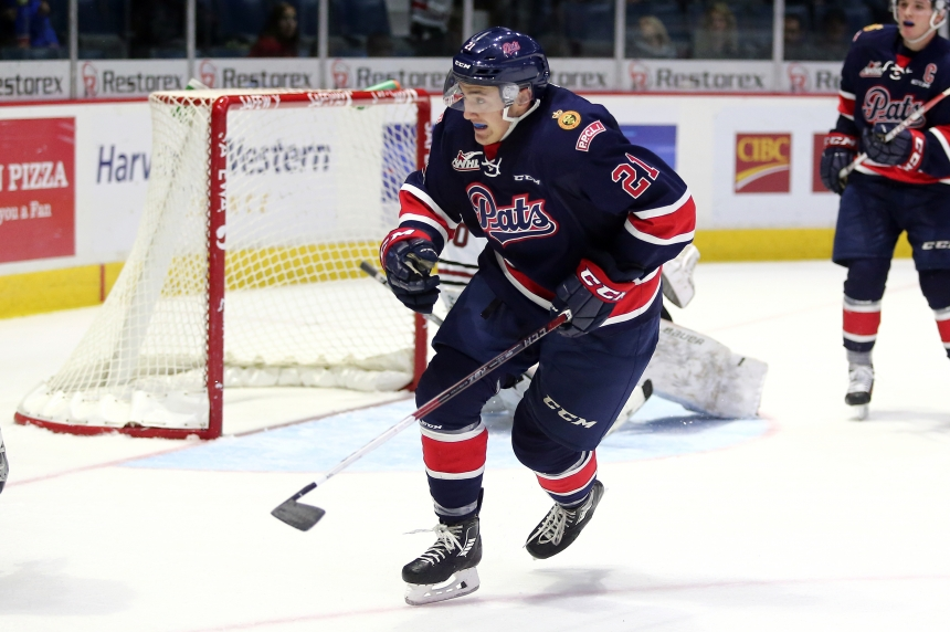 Regina Pats lose to Kelowna 3-2 in overtime