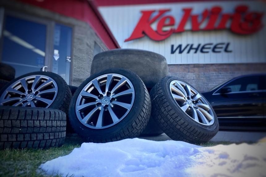 Winter tires top of mind as first snowfall hits Saskatoon