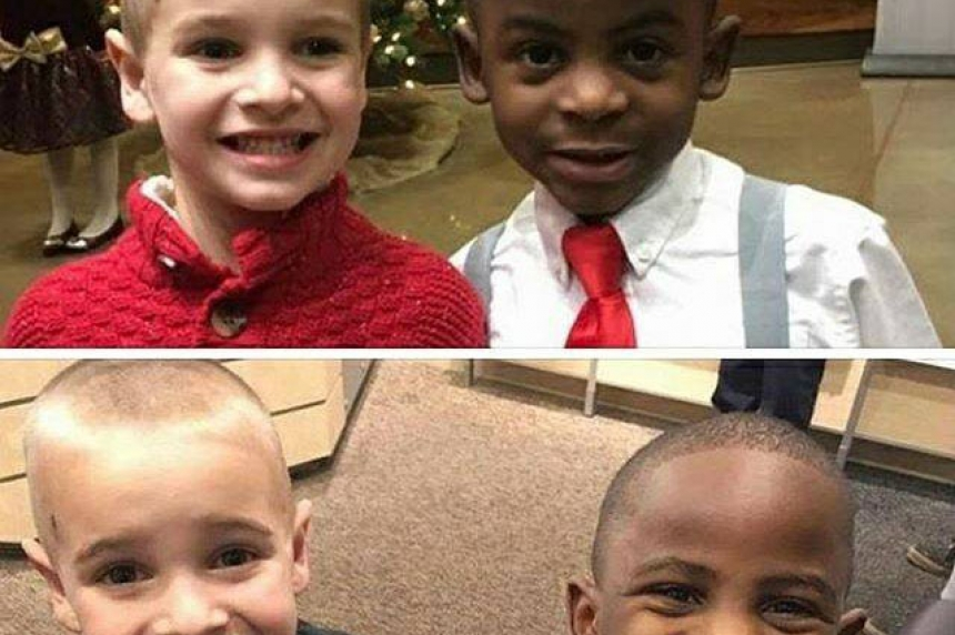 Little boy's innocent haircut request sends powerful message