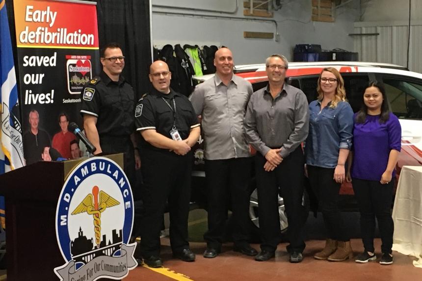 Paramedics honour 5 Saskatoon heroes