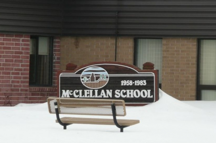 Sask. school up for auction