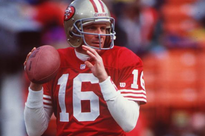 Joe Montana headlining Kinsmen Sports Dinner in 2016