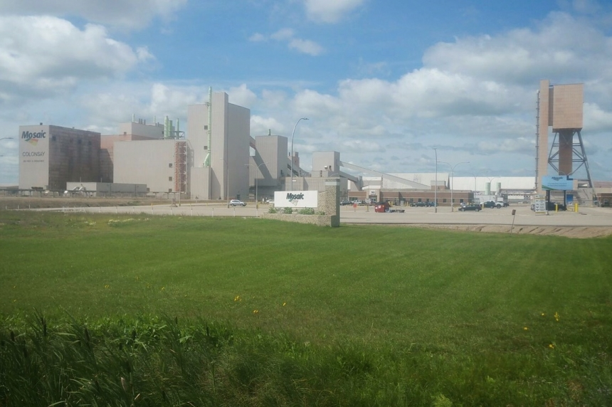 Hundreds of workers temporarily laid off at Mosaic Colonsay potash mine