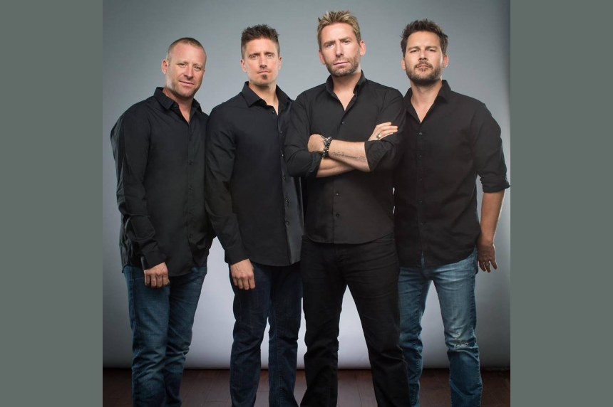 Nickleback coming to Saskatoon