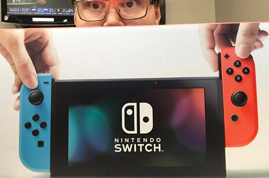 Nintendo Switch sells out in Saskatoon hours after launch