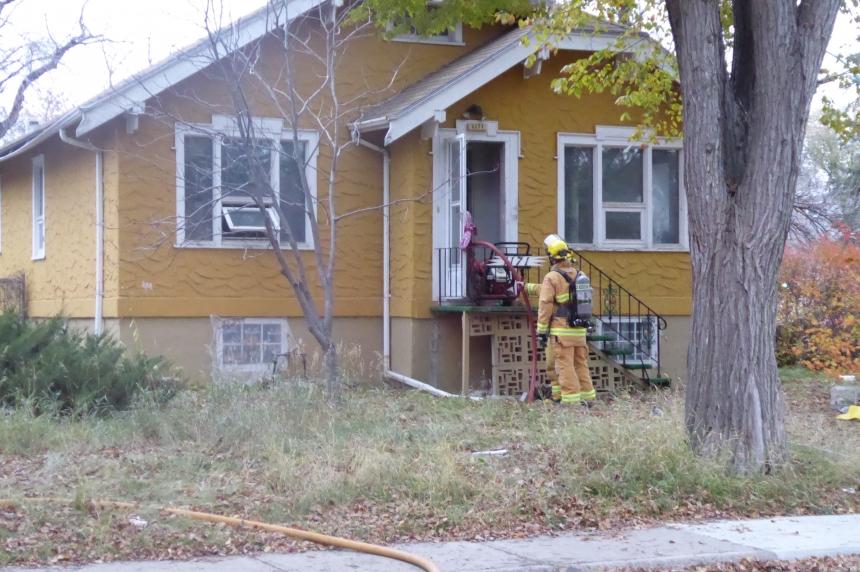 Pets perish in Regina house fire