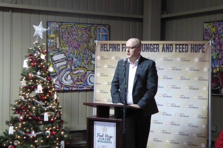 Regina Food Bank kicks-off 12 Days of Christmas Campaign