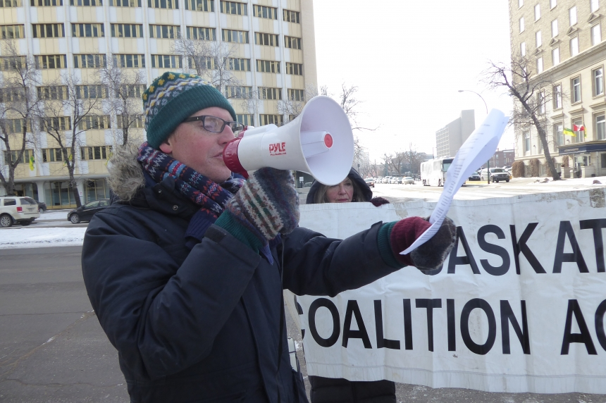 Regina citizens show support for prisoners after P.A. prison riot
