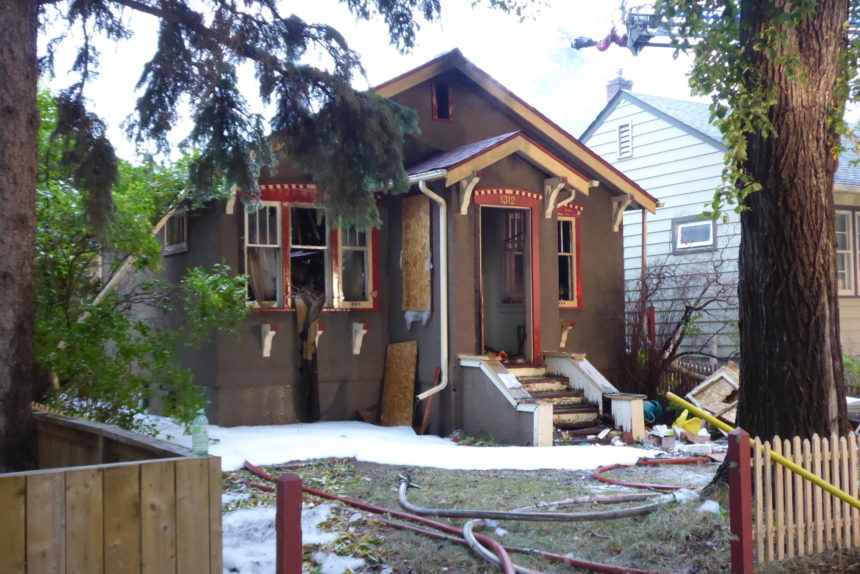 Regina home catches fire for 2nd time in August