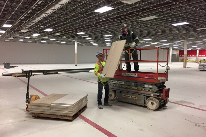 Materials from vacant Target spaces benefit Saskatoon groups