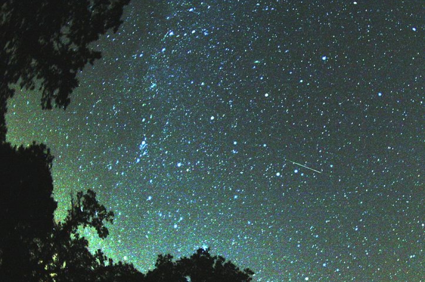 Above the Smoke - Perseid Meteor Shower is This Weekend