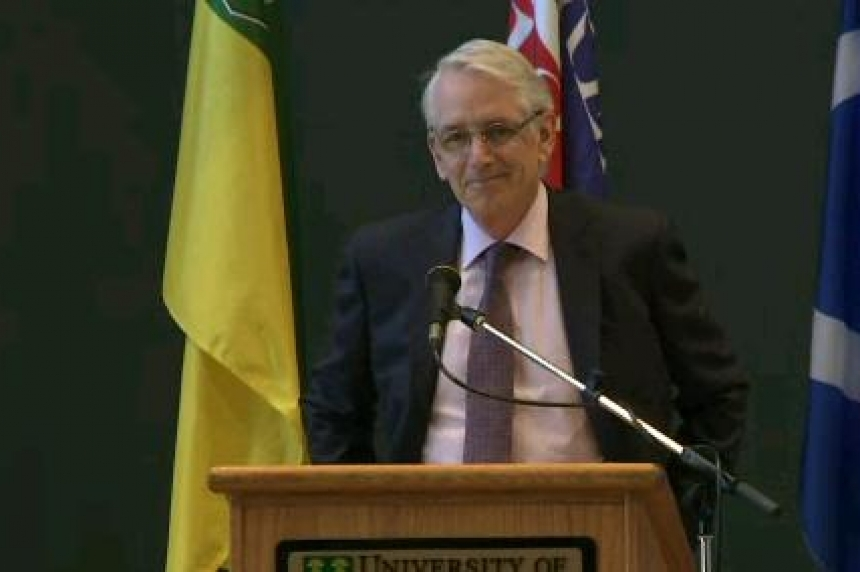 Peter Stoicheff becomes 11th U of S president