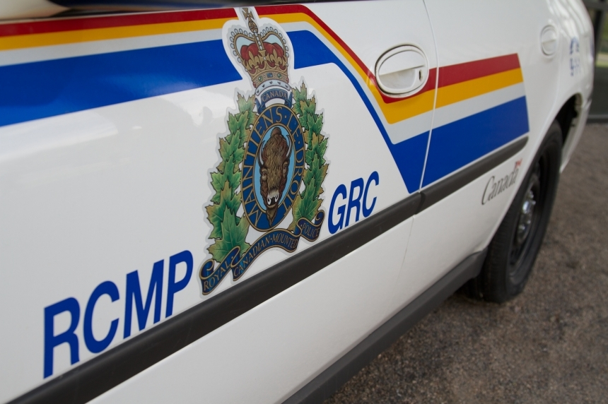 RCMP cruiser hit with car and axe in traffic stop