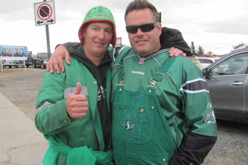 Roughrider fans ecstatic after team's first win of the season