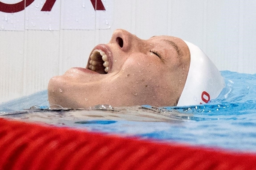 Oleksiak leads strong Canadian team into Olympic closing ceremony