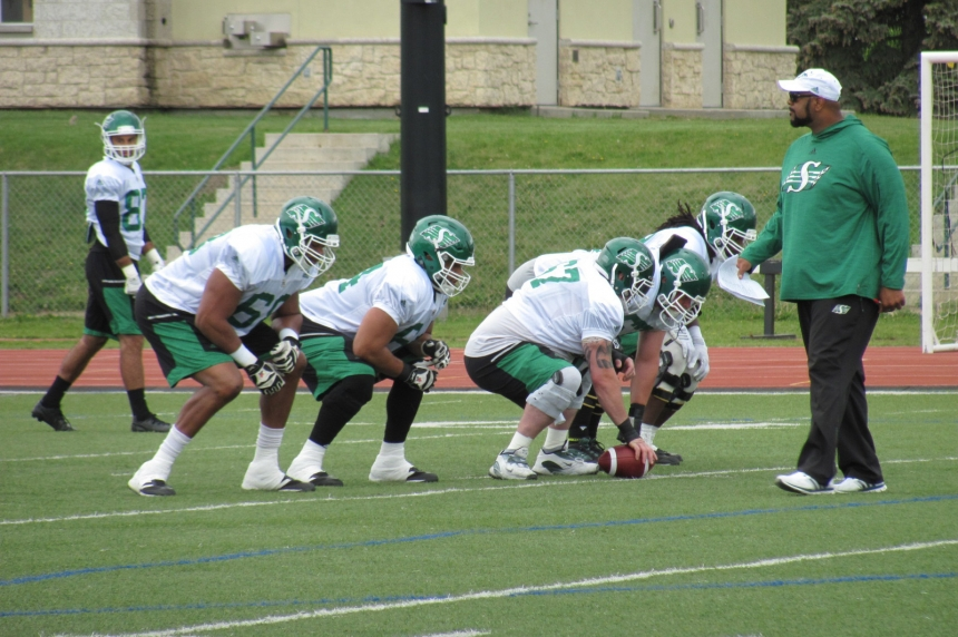 """There's a lot to it,"" Riders say getting a yard in the CFL is not always easy"