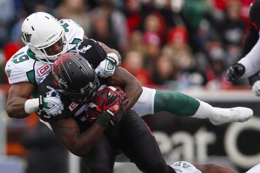No longer a rookie, Riders' Knox Jr. ready for a new role