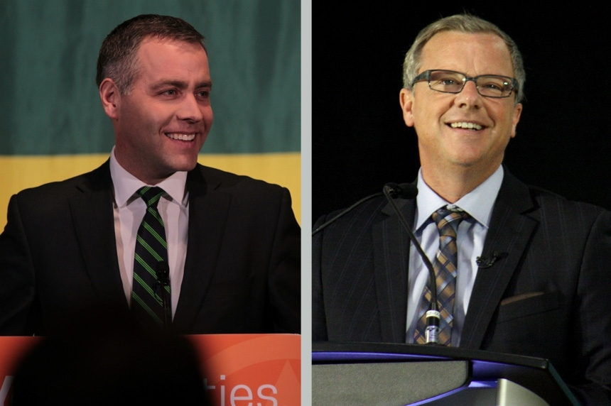 Broten, Wall prepare for leaders debate