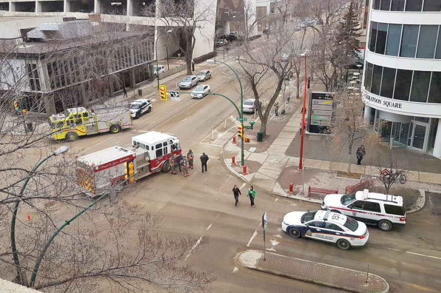 Suspicious package at 3rd Saskatoon building this week