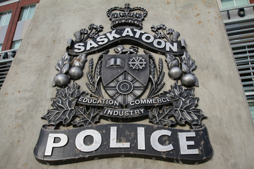 Man charged after allegedly pointing firearm at group of people in Saskatoon