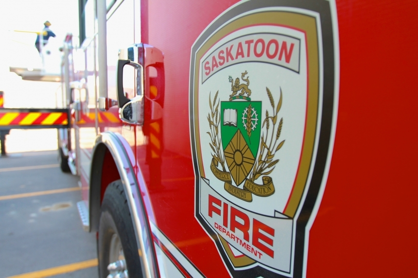Arson a possible cause of fire in downtown Saskatoon