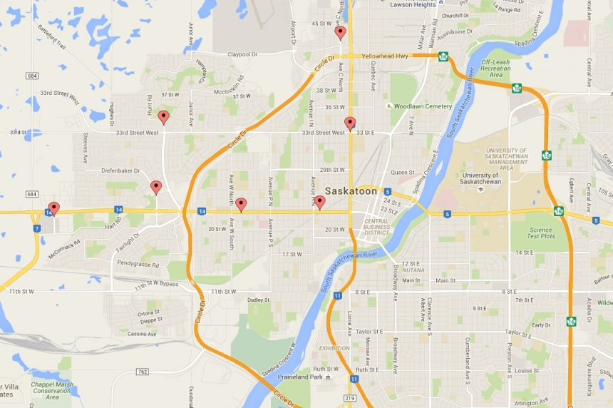 1 man charged in 10 Saskatoon armed robbery cases over 2 weeks