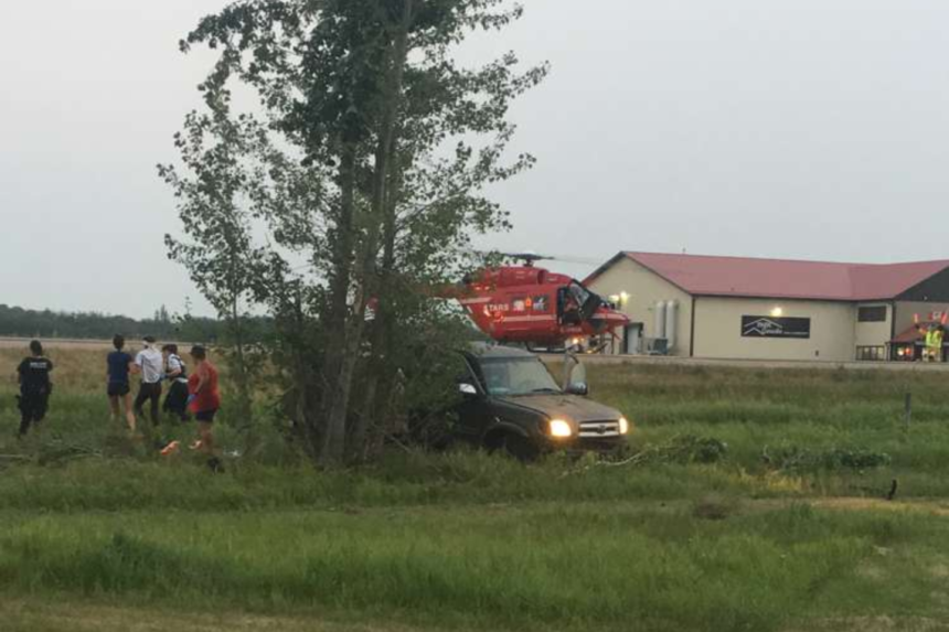 4 people taken to hospital after Regina Beach crash