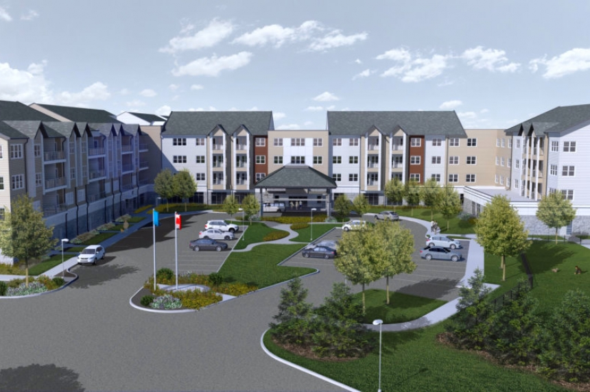 New retirement complex under construction in east Regina