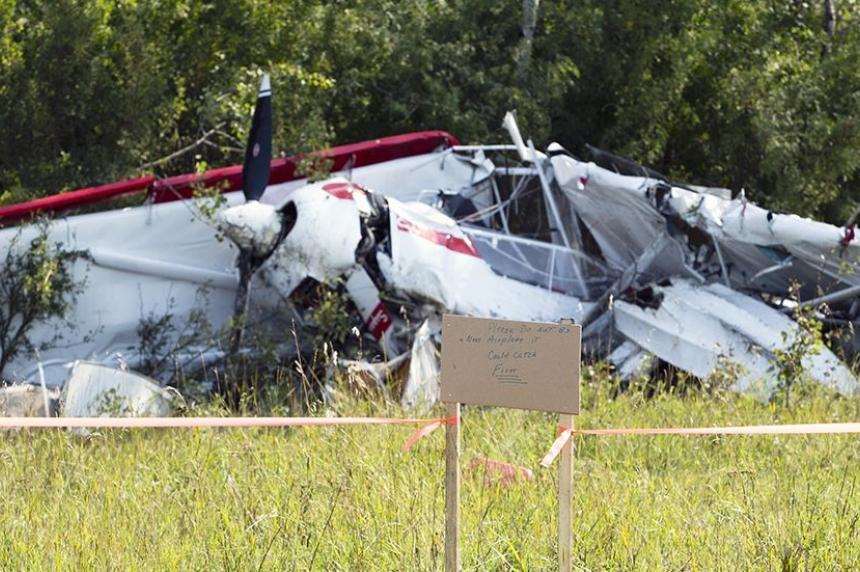 2 men injured in plane crash near Prince Albert