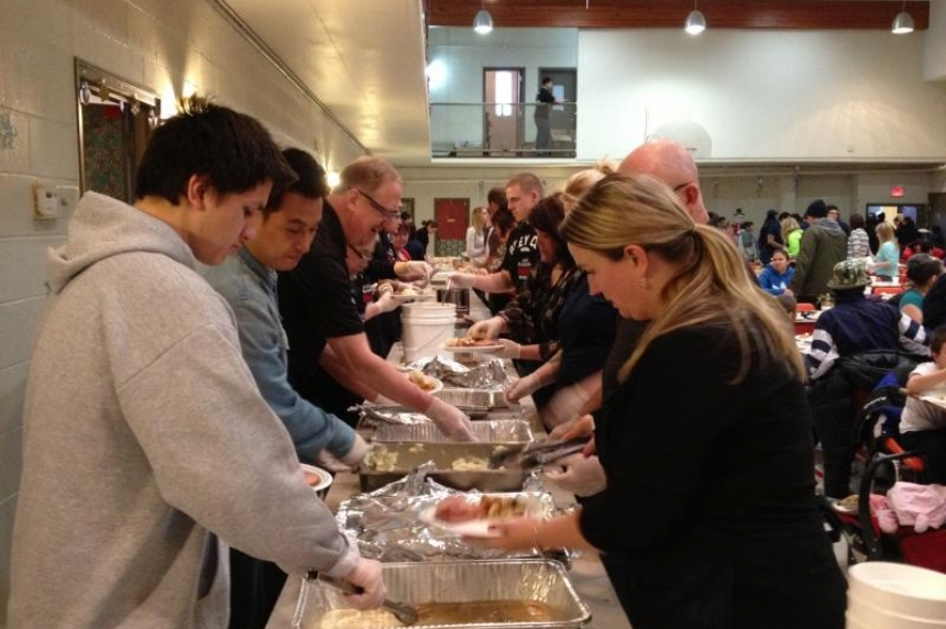 Souls Harbour hosts annual Easter meal in Regina