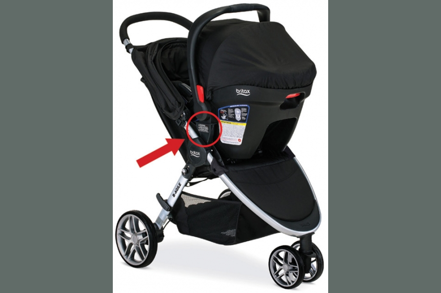 Britax baby strollers recalled after children hurt