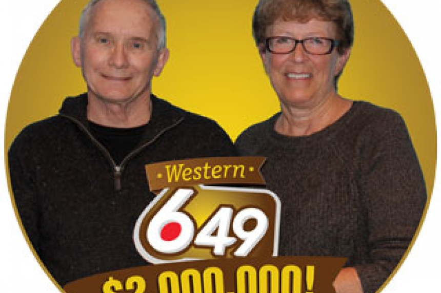 Swift Current couple celebrates $2M lotto win
