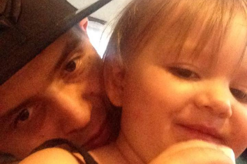 Photos of Hailey Dunbar-Blanchette show father's love for his little girl