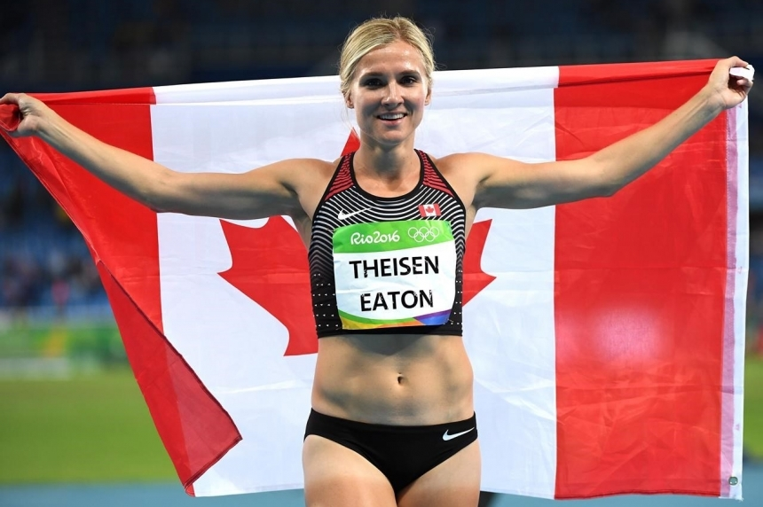 Theisen-Eaton, track cyclist ring up two more medals for Canada's Olympic women