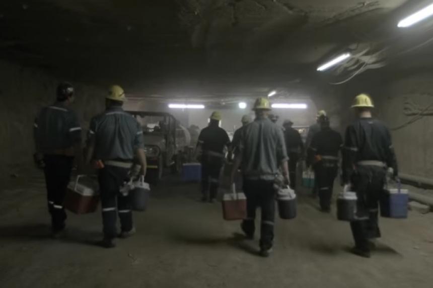 Fire traps more than 100 miners at Allan potash mine