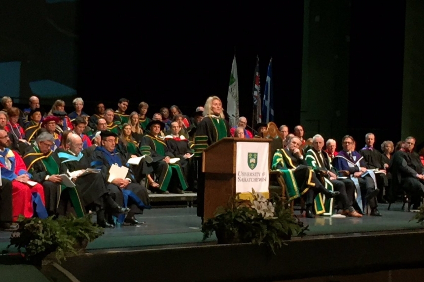Wickenheiser tells grads to be 'best for the world'