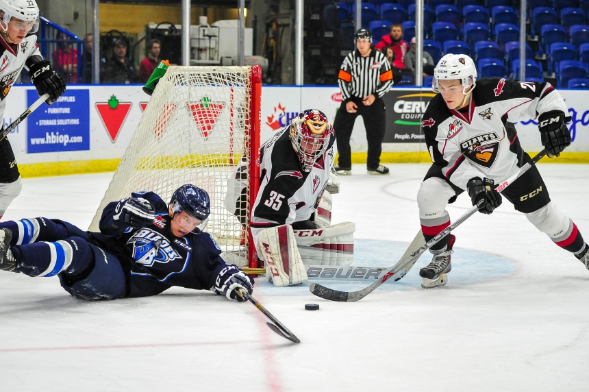 Blades drop 2 sudden-death decisions over the weekend