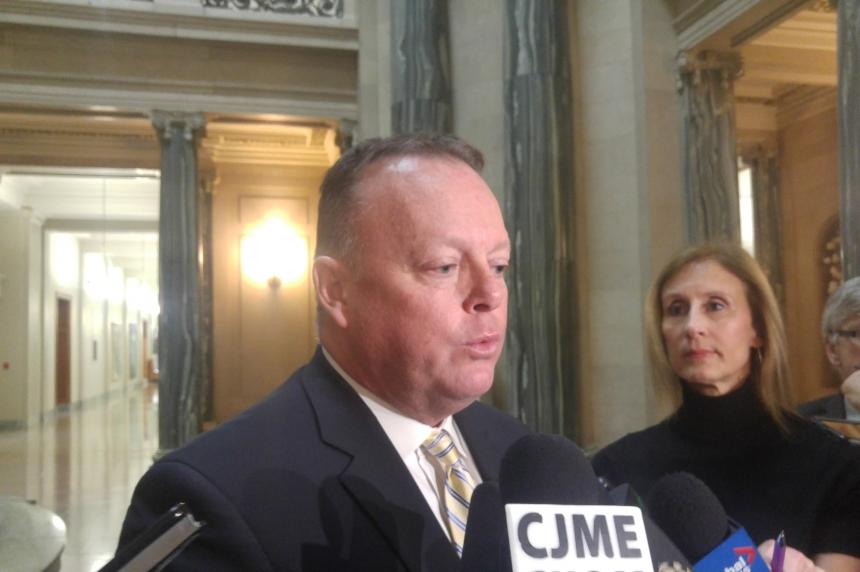 Sask. finance minister reports $600 million revenue shortfall