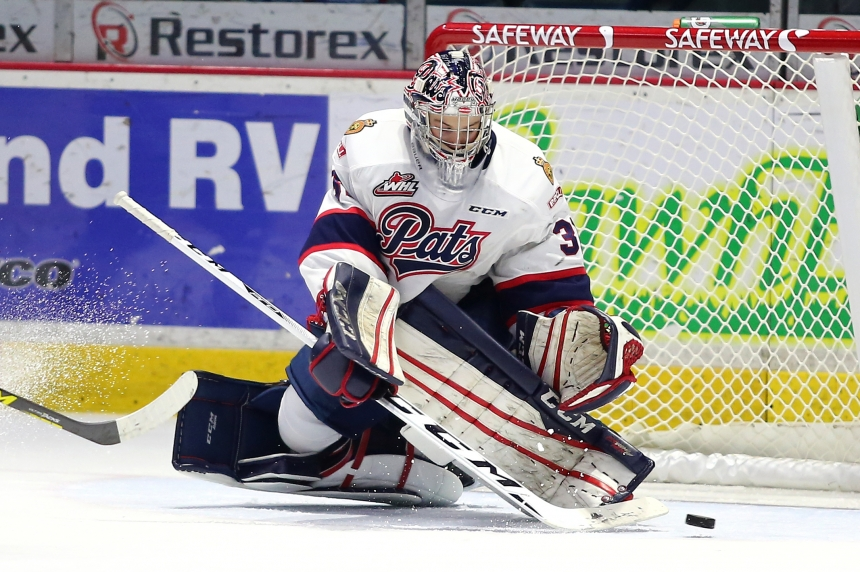 Pats win wild one in Medicine Hat