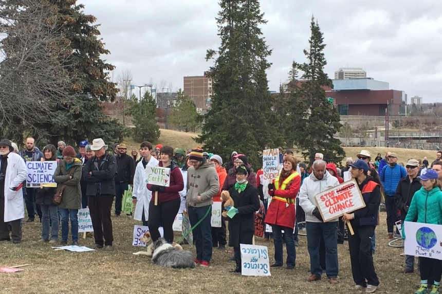 Saskatoon joins worldwide march for Science
