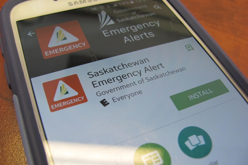 New app to relay emergency information to Sask. residents