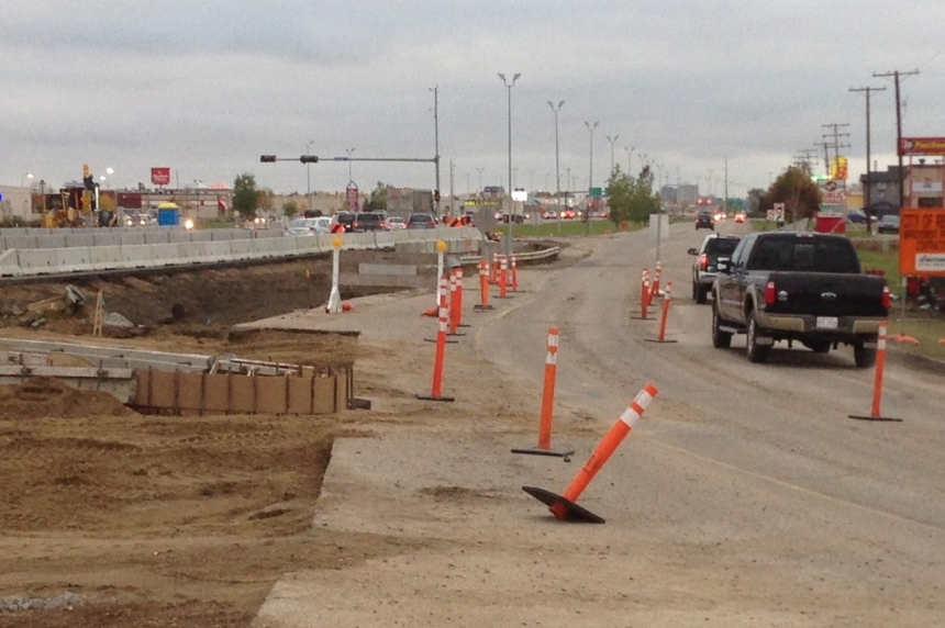 Regina city council to vote on temporary fix for Eastgate Drive access