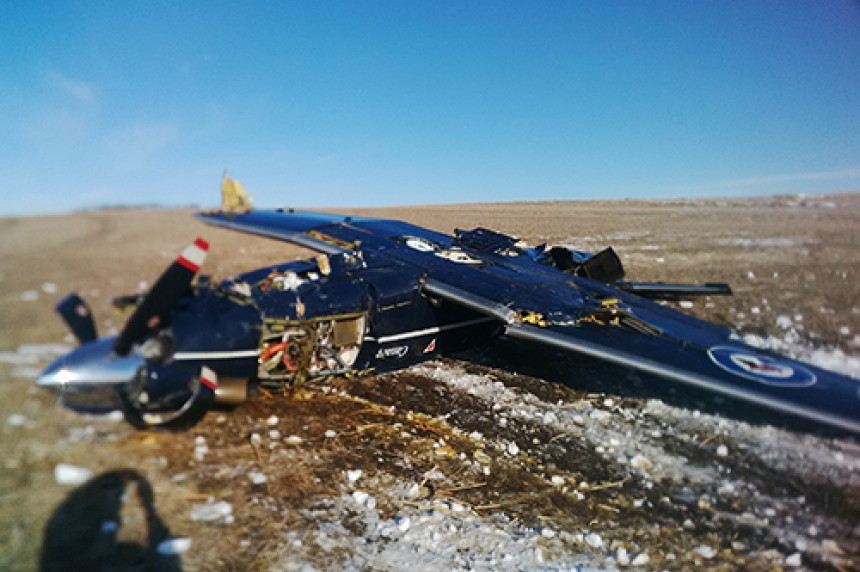 January plane crash near 15 Wing Moose Jaw was during instructional training